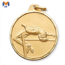 Renewable Design for Basketball Medal The gold medallion and award medals best price supply to Antarctica Suppliers