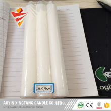 Stick 40g White Flameless Candles for Libya