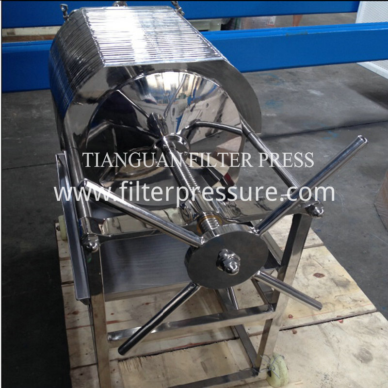 Stainless Plate Filter Press