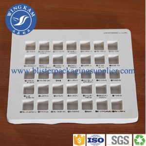 High-tech Vacuum Plastic Blister Tray For Candy Industry
