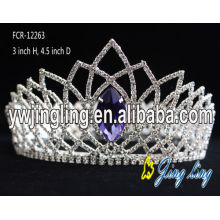 Rhinestone Pageant Full Round Crown
