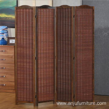 Folding Wood restaurant decorative room divider