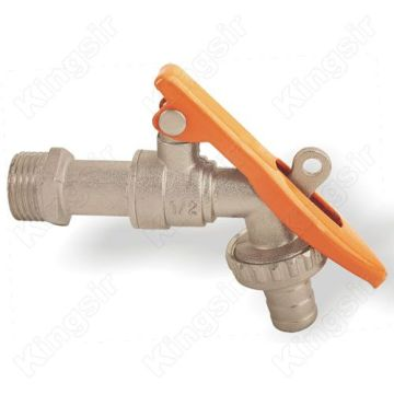 Hot Sale for for Bibcock Taps Brass Bibcock Ball Vale With Hose Union supply to Niger Manufacturers