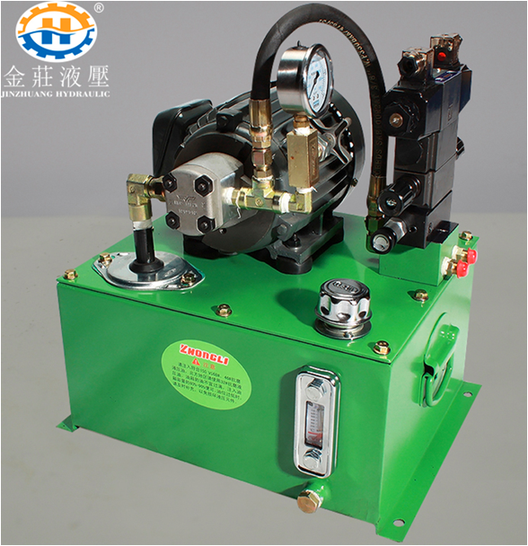gear pump station
