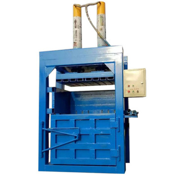 Waste paper hydraulic carton compress baler packing machine