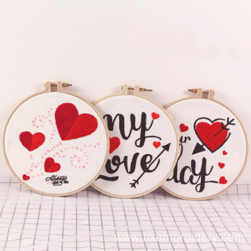 DIY Embroidered Material Kit