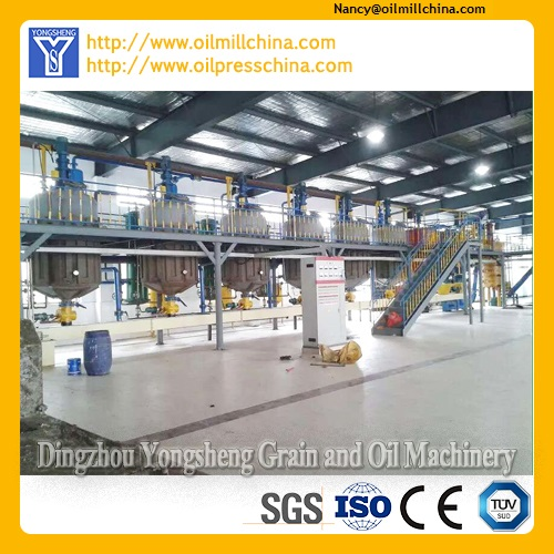 Cooking Oil Refining Plant Project