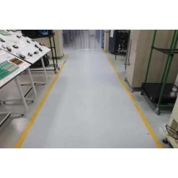 Electronics Factory ESD floor paint