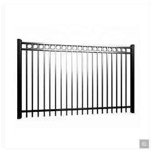 Customized for Powder Coated Fence Cheap Double Open Fencing Swing Sliding Gate supply to Palau Exporter