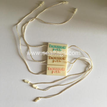 Colorful Embossed Plastic Seal Tags