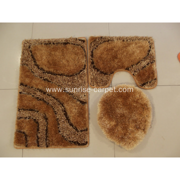 bath mat and toilet seat cushion