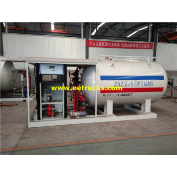 5000 Liters Mini Propane Skid Units