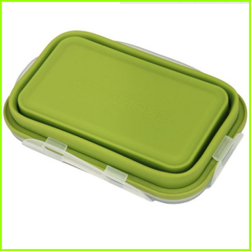 Stackable Food Storage Silicone Lunch Box Food Container