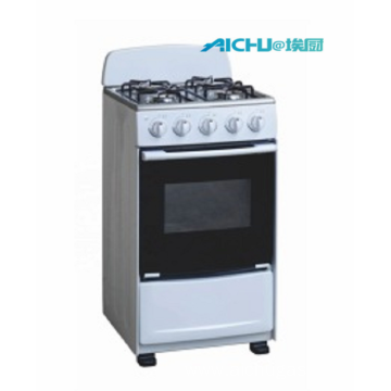 4 Burners Gas Oven With Removable Lid