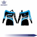 Strapless Long Sleeve Cheerleader Top