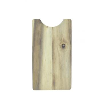 wood cutting board meat