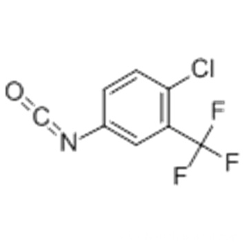 4-Chloro-3-(trifluoromethyl)phenyl isocyanate CAS 327-78-6