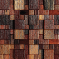 home decoration wooden mosaic