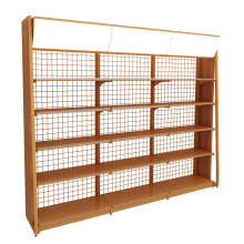 Big Discount for Single Side Supermarket Shelf Wholesale Single-Sided Steel And Wooden Display Shelves supply to Nicaragua Wholesale