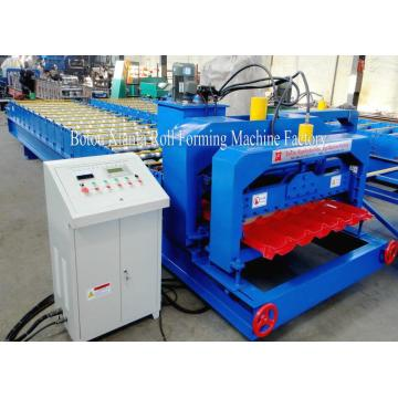 Automatic Metal Glazed Tile Roll Forming Machine