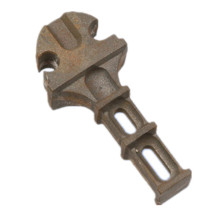 Cast Iron Embedded Part Railway Shoulders