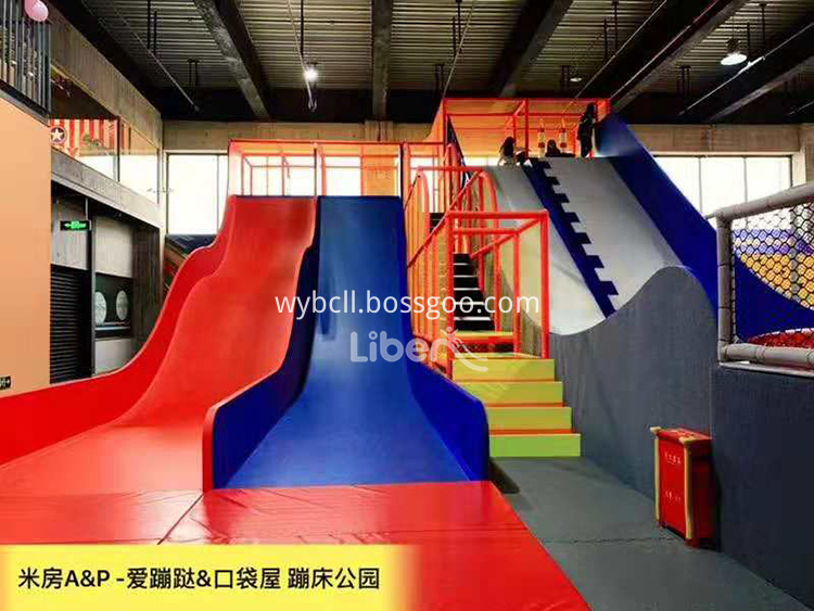 trampoline park in China