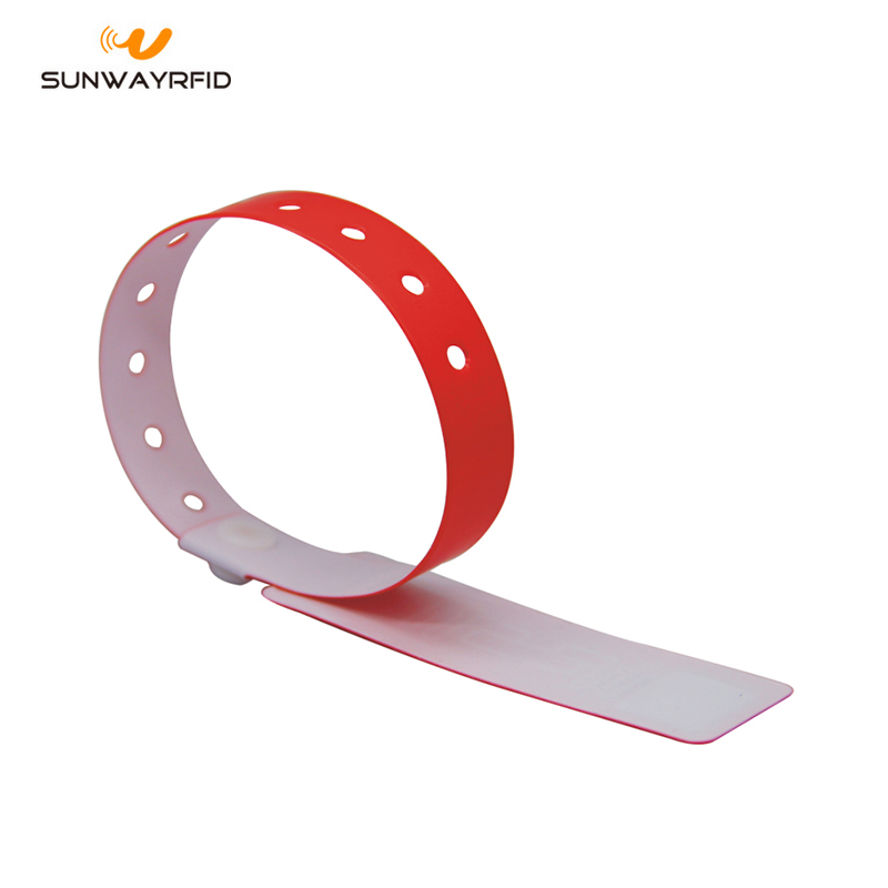 pvc disposable rfid wristband