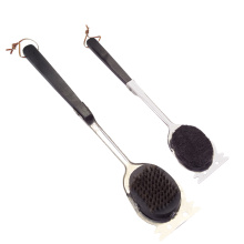 high quality bbq grill cleaning brush with scraper
