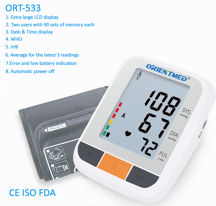 ORT533-blood-pressure-monitor