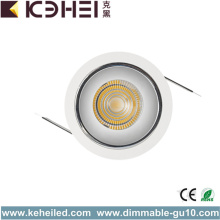 12W with 75mm Cutting COB Spot Lights Downlight