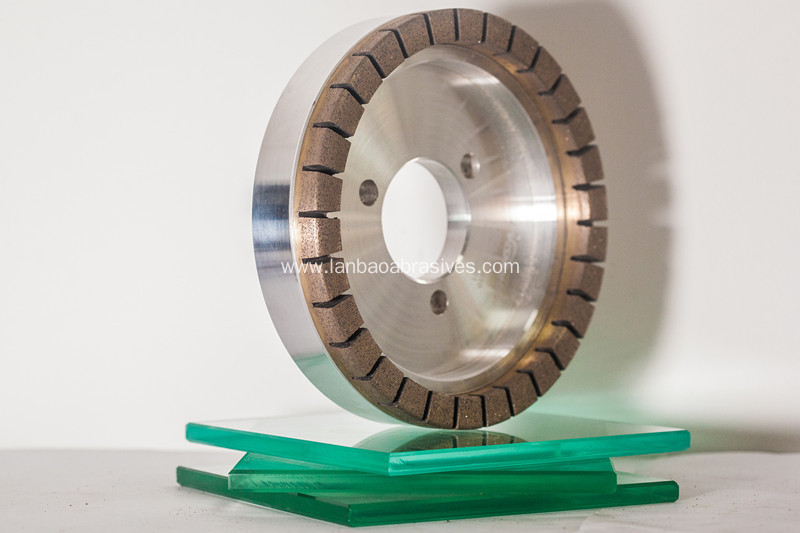 Diamond  cup wheel with full segmented