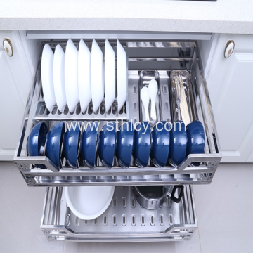 Square Tube Stainless Steel Basket
