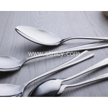 Stainless Steel Tableware Set Dinner Spoon