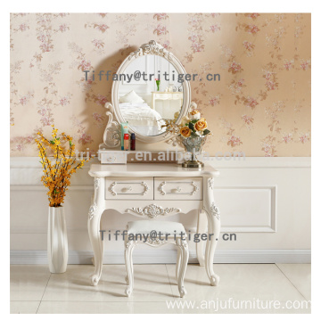 Cosmetics drawer dresser furniture french style dressing antique dressers with mirrors