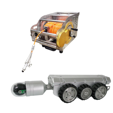 CCTV Sewer Crawler Robot Video Inspection Camera