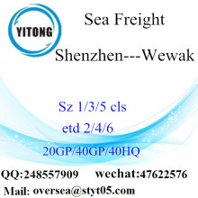 Shenzhen Port Sea Freight Shipping To Wewak