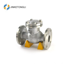 JKTLPC048 rubber wafer forged steel flow control fuel check valve