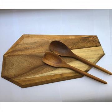 Irregularity wooden chopping board