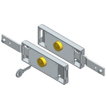 Europe style for China Roller Shutter Lock Set,Roller Shutter Lock,Slide Bolt Lock Set Manufacturer Shifted Bolt Roller Door Lock Set supply to France Exporter