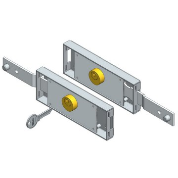 Personlized Products for China Roller Shutter Lock Set,Roller Shutter Lock,Slide Bolt Lock Set Manufacturer Shifted Bolt Roller Door Lock Set export to Portugal Wholesale