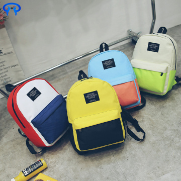 Ladies high quality canvas backpack