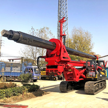 Hydraulic auger rotary piling machine