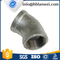 INQO brand galvanized elbow M.I. pipe fittings