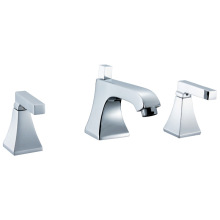 Chrome Counter Faucet Deck Mounted Faucet
