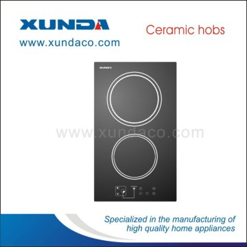 EGO Heating 2 Zone Ceramic Hob