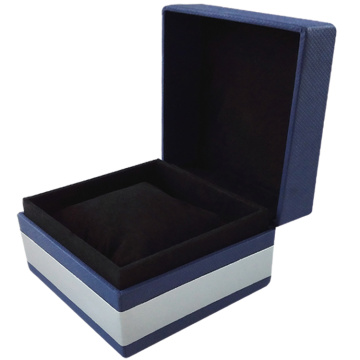 Luxury creative gift jewelry velvet box with lib
