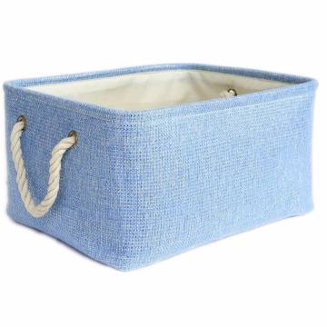 Large Decorative Fabric Bin Toy Storage Bin