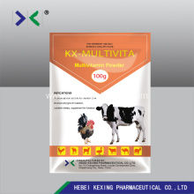Bottom price for Multi-Vitamin Powder, Multi-Vitamin Injection Manufacturer in China Animal Multivitamin WSP 50g export to United States Factory