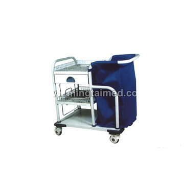 Debris bag morning care cart