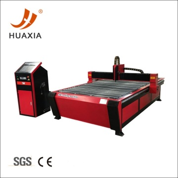 Black metal steel cnc plasma cutting machine